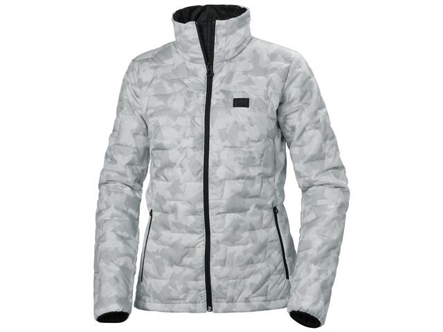 bestbewertet wo zu kaufen Rabatt-Verkauf Helly Hansen Lifaloft Isolierende Jacke Damen grey fog camo